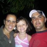 Rafaella e sua família