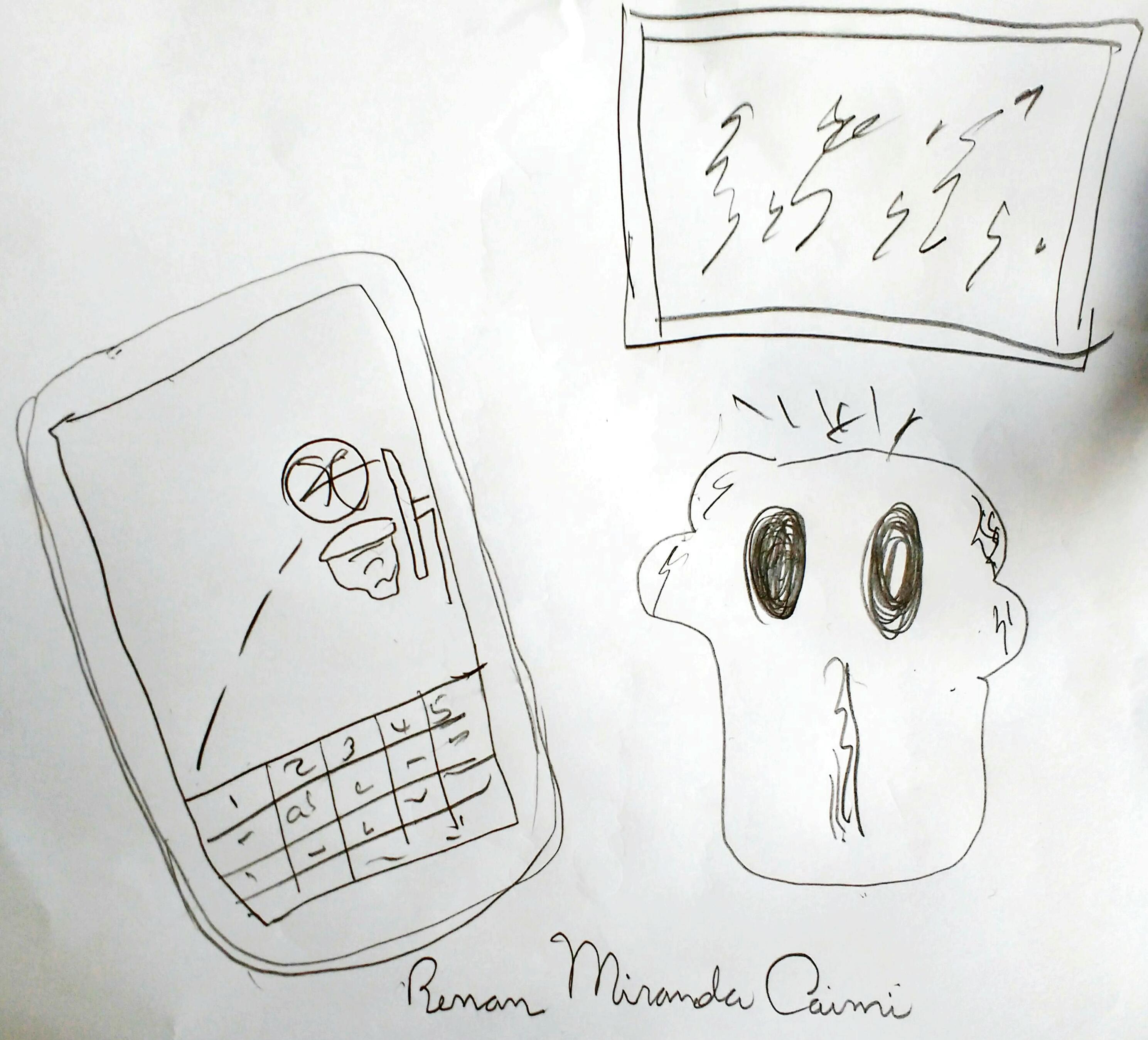 Renan Miranda Caim - Desenho - Agosto 2016